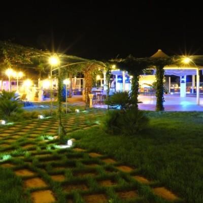 Vista Notturna Al Parco Agriturismo  Lecce